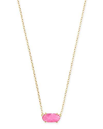 Kendra Scott Ever Pendant Necklace Azalea Illusion & Gold