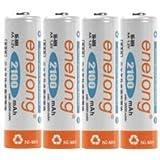 日本トラストテクノロジー(JTT) エネロング 単3充電式電池 4本パック EL21D3P4