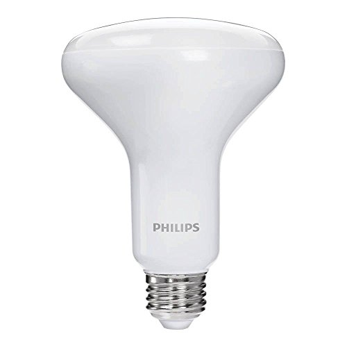 Philips 465996 65W Equivalent Dimmable Soft White BR30 LED Bulb (3 Pack)