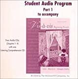 Student Audio Program Part 1 to Accompany VIS-A-VIS Beginning French Third Edition, Evelyne Amon and Judith A. Muyskens, 0072870397