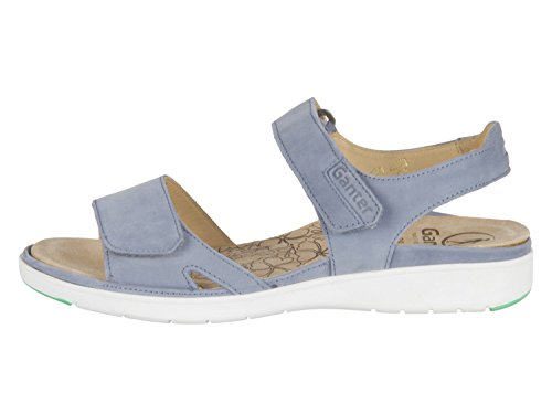 Ganter Gina 20 01223400 Jeans Softnubuk Vitello - 2001223400 Blu