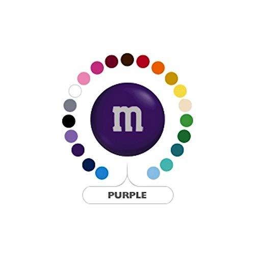 M&M's Purple Milk Chocolate Candy 1LB Bag]()