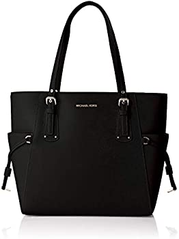 Michael Kors Voyager Crossgrain Leather Tote Bag