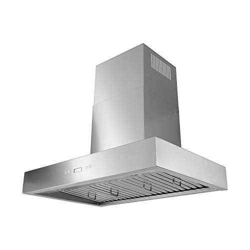 VESTA 30 Inch 900CFM 4 Speed Powerful Wall Mounted Stainless Steel Range Hood (VRH-Z-30)