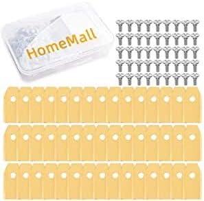 HomeMall - Cuchillas de titanio para cortacésped Husqvarna Automower, Gardena, Yardforce, 45 unidades