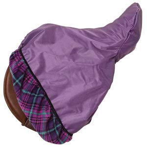 - Centaur 420D Saddle Cover with Plaid Lining