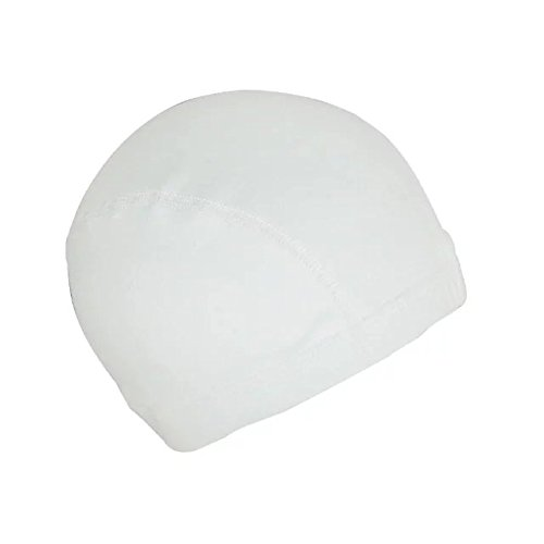 [EYX Formula Neutral Soft Milk Silk Hip Hop Watermelon Wig Cap ,Stretch Cover Wig Spandex Dome Cap for Protecting Hair -Daily Life or Cosplay] (Milano Anime Costumes)