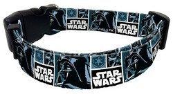 Darth Vader 3/8'' kitten collar 6'' through 9'' Platinum Pets