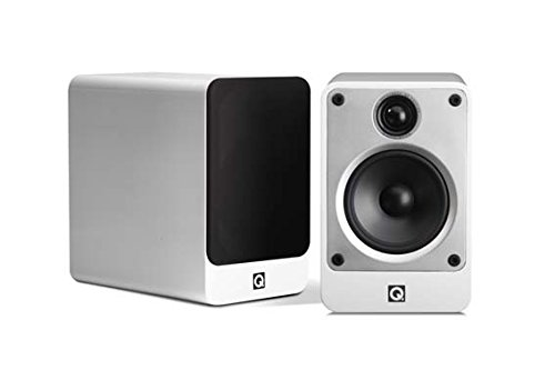 Q Acoustics Concept 20 Bookshelf Speakers (Pair) (Gloss White)