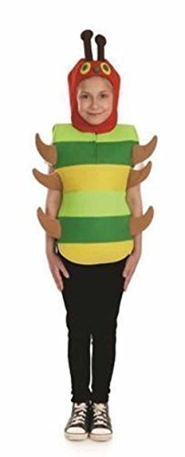 Fun Shack Child Caterpillar Costume - AGE 10 - 12 YRS (XL) by Fun Shack (Caterpillar Costumes)