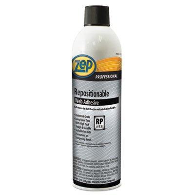 Repositionable Web Adhesive, 20 Oz, Aerosol, 12/carton by ZEP-PRO