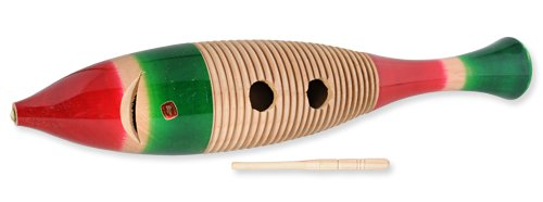 West Music Large Fish Shaped Guiro by West Music