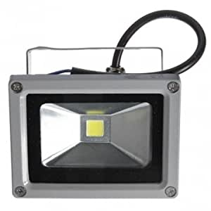 10W Pure White 900LM LED Flood Light Lamp Outdoor Waterproof 85-265V