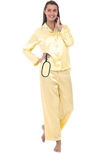 Yellow Womens Pajamas - 8