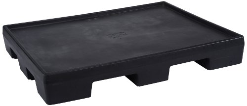 Forte Products 8001812 Pallet Display Deck, 52'' L x 42'' W x 7'' H, Black by Forte Products