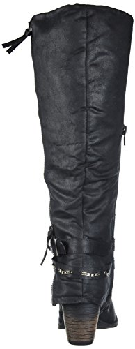 Suede Jellypop Boot Like Jellypop Engineer Womens Carrly Distressed Womens Black y8xwvwO5Cq