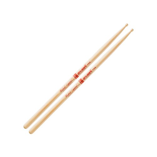 Promark Hickory 733 Michael Carvin Wood Tip drumstick ()