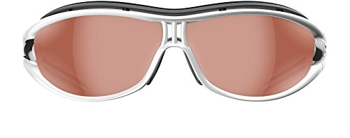 Adidas A126/00 6077 Silver / Black Evil Eye Pro L Wrap Sunglasses Golf, - Cycling Adidas Sunglasses