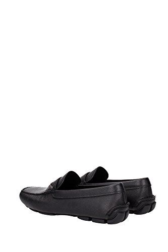 Prada Loafers Men - (2DD125NERO) UK Black DPS0J