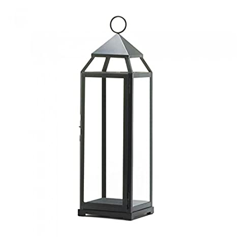 wholesale dealer e79eb f9c95 Extra Tall Black Contemporary Lantern