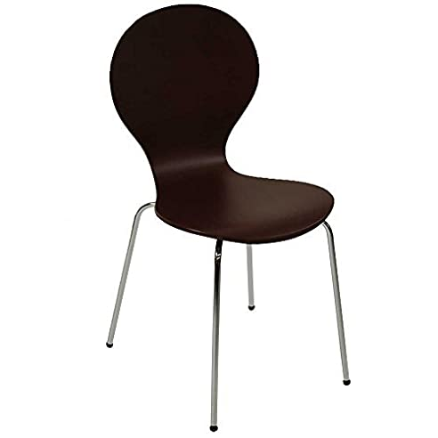 Stuhl Klassiker Holz design klassiker stuhl stockholm stapelbar coffee holz amazon