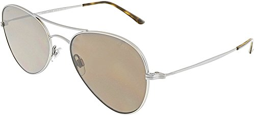 Giorgio Armani 6035 300273 Matte Pale Gold 6035 Oval Sunglasses Lens Category 3 Armani Gold Sunglasses