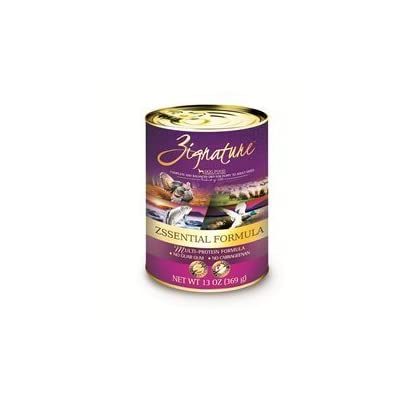 Zignature Grain Free Zsssentials Canned Dog Food 13oz by Zignature