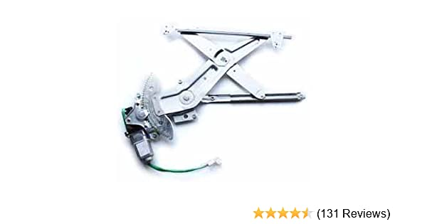 Power Window Regulator with Motor Assembly Front Driver Side Replacement Fits for 97-01 Toyota Camry Million Parts