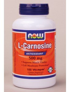 Now Foods L-Carnosine 500 mg - 100 Vcaps 5 Pack by NOW Foods