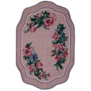 "Fun Time Country Festival Floral Rug - Size: 3'3"" x 4'10"""