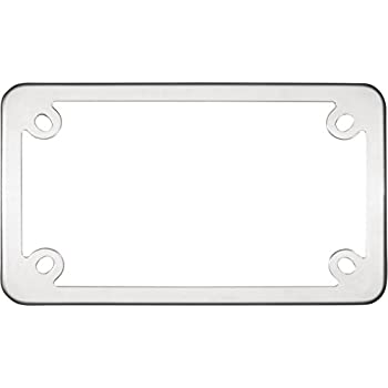 Motorcycle Elite Stainless Steel License Plate Frame by Cruiser Accessories  sc 1 st  Amazon.com & Amazon.com: Motorcycle Elite Stainless Steel License Plate Frame by ...
