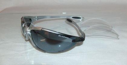 Blizzard Sonnenbrille Set Skibrille wechselbare Linsen A404TBS10 black
