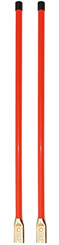 New Pair of 36'' Universal Snow Plow BLADE MARKER GUIDE KIT Fluorescent Orange by The ROP Shop