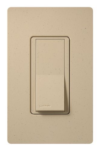 Lutron SC-3PS-DS Diva 15-Amp, 120-Volt to 277-Volt 3-Way Switch, Desert Stone by Lutron