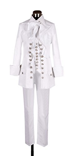 (Dreamcosplay Anime Vampire Knight Kuran Kaname White Uniform Cosplay)
