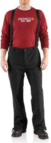 Carhartt Men's Waterproof Breathable Cotton Astoria Pant,Black (Closeout),Medium