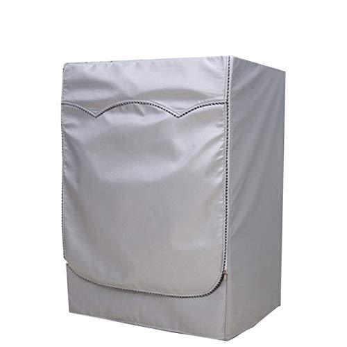 ZALING Roller Standard Washing Machine Cover Waterproof Sunscreen Moisture-proof Breathable L(7-8kg)