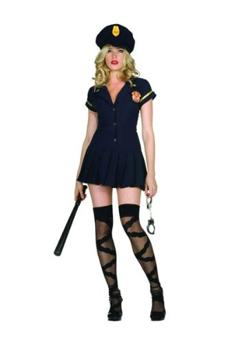 RG Costumes Plus-Size Officer Save Me, Navy Blue, XX-Large