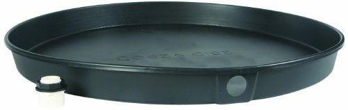"""Camco 11406 26""""ID x 2"""" Plastic Drain Pan with CPVC Fitting"""