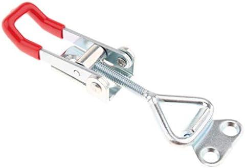 Homyl 容量359lbsのヘビーデューティ調整可能ラッチUボルトセルフロックトグルクランプ