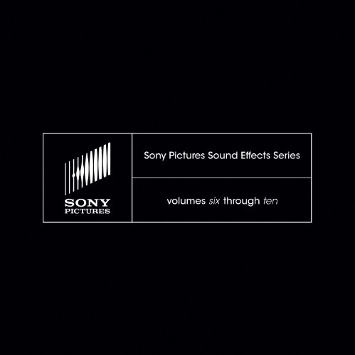 Sony Pictures Sound Effects Series Volumes 6-10 [Download] by Sony