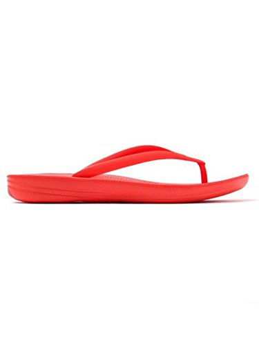 FitFlop Mujer dorado iQushion Ergonomic Chanclas Flame