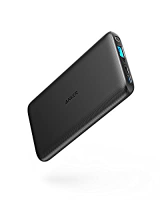 Anker PowerCore Lite 10000mAh, High Capacity Portable Charger, Slim and Light External Battery for iPhone, Samsung Galaxy, and More from Anker