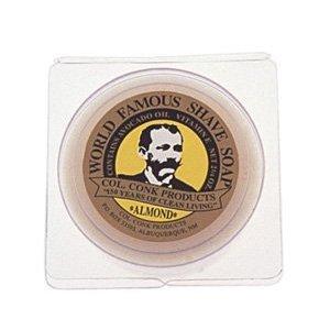 Conk Almond - Col. Conk Almond Glycerine Shave Soap 2.25 oz