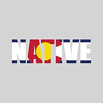 Colorado native sticker fa graphix vinyl decal co pride