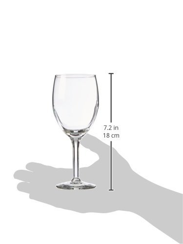 Libbey Glassware 8464 Citation Wine/Beer Glass, 8 oz. (Pack of 24) by Libbey (Image #2)
