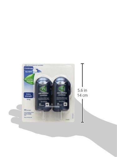 Nicorette Cooldrops Mint 4mg Nicotine 80 Mini Lozenges