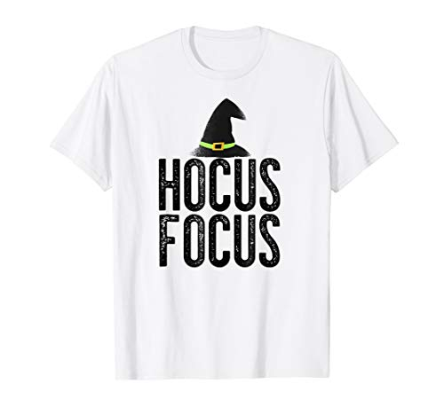 HOCUS FOCUS Halloween T-Shirt Teacher's Funny Meme Gift Idea ()