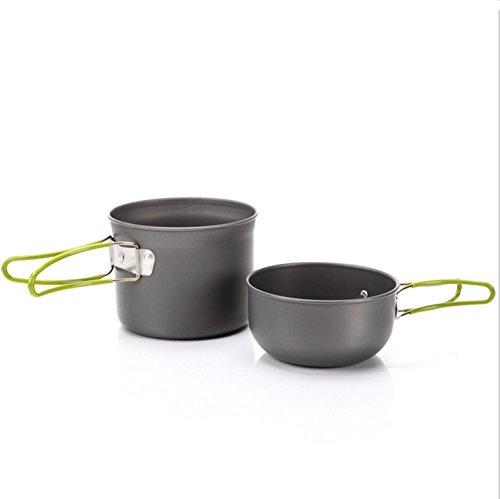 EL INDIO Camping casseroles suit single person non - stick pan portable casseroles Series wholesale DS-101