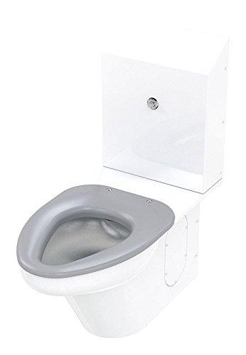 Ligature Resistant Siphon Jet Toilet, Elongated 1.6 or 1.28 gpf